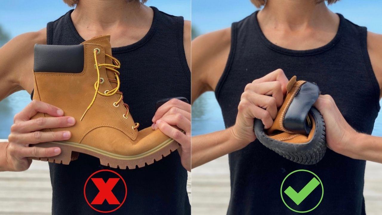 Shoes Should Be Flexible