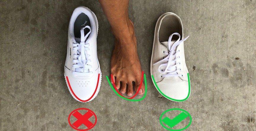 Shoes Should Be Shaped Like a Foot
