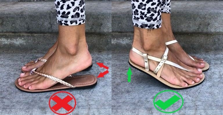 Shoes Should Be Secure to Your Foot